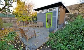 modern home office sett. modern home office in a rustic backyard setting contemporary gardenshedand sett