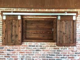 outdoor tv cabinet outdoor tv cabinet with double doors building plan