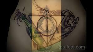 фото тату дары смерти примеры интересных готовых татуировок для