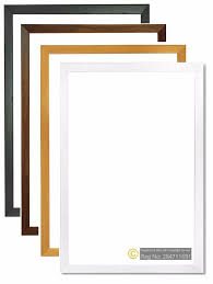 details about photo picture frames home decor multi sizes poster frames black oak white