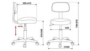 <b>Кресло Бюрократ CH-1201NX/BL&BLUE</b> - купить в интернет ...