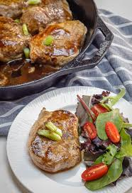 easy pork medallions with maple