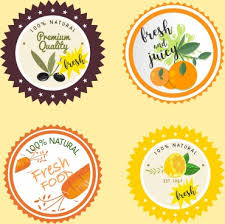 Food Label Template Free Vector Download (25,607 Free Vector) For ...