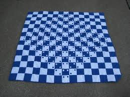 774 best 3D quilt blocks and quilts... images on Pinterest ... & Pondering Cat: Bulging Checkerboard and Magic Square Lap Quilt Adamdwight.com