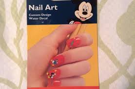 Buy Disney Mickey Mouse Nail Art Custom Design Water Decal In Cheap