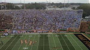 Image result for UNC crowd at wake forest