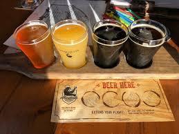 photo of mandeville beer garden sarasota fl united states beer flight