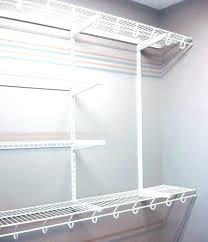 closet shelves and rods closet storage s wire attachable hang rods shelf with rod and bracket closet shelves and rods