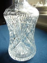 vintage cut glass whisky decanter c 1950 2 of 7