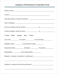 Staff Appraisal Form On Employee Forms Fill Save Annual
