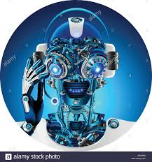 Technical Support Questions Robot Face With Headphone And Microphone Answering Questions Avatar