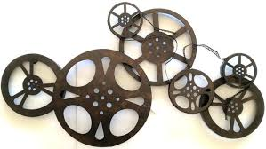 theater room wall art home theater wall art reel wall decor 4 large