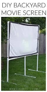 diy backyard screen using pvc pipes and a clearance sheet