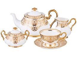 <b>Кларисса</b> Голден чайный <b>сервиз</b> на 6 персон 15 предметов в ...