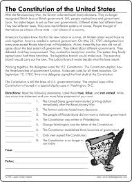 The Us Constitution Worksheet Free Worksheets Library | Download ...