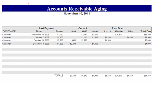 Account Receivable Statement Template Download Accounts Receivable Aging Related Excel Templates For