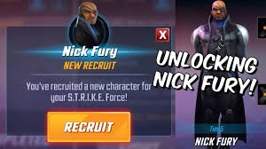 Unlocking Nick Fury! - 5 Star Legendary Event - Marvel Strike Force ...