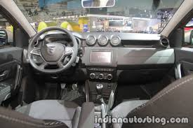2018 renault duster india launch. perfect duster 2018 dacia duster dashboard at iaa 2017 on renault duster india launch f