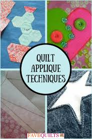 Quilt Applique Techniques | FaveQuilts.com & Quilt Applique Techniques Adamdwight.com