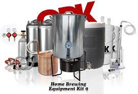 home brewing equipment kit 9 ultimate 10 gallon all grain pete cooler burner kegging kit