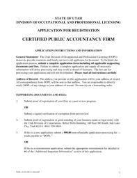 utah expungement form fillable online dopl utah certified public accountancy firm utah