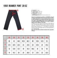 Pike Brothers 1958 Roamer Jeans 20 Oz Indigo Lipstick
