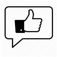 facebook like thumbs up.  Thumbs Bubble Communicate Facebook Like Social Media Speech Thumbs Up Icon With Facebook Like Thumbs Up B