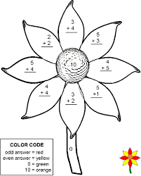 Small Picture Color By Number Addition Worksheets 2 homework Pinterest