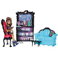 Amazon Monster High Coffin Bean and Clawdeen Wolf Doll
