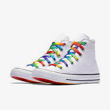 converse high tops white. converse chuck taylor all star pride core high top unisex shoe. nike.com tops white s