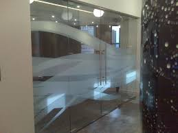 office glass frosting. Pool Office Glass Frosting