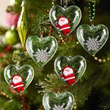 Details Zu Herz Weihnachtskugeln Christbaumkugeln Christbaumschmuck Kunststoff Party Deko