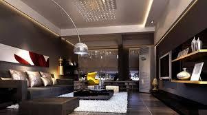 10 stylish dark living room interior
