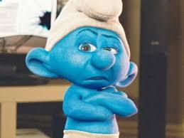Image result for blue smurf