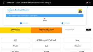 Erfahren sie mehr service direkt in ihrer region. Mbepc Net At Wi Mercedes Benz Electronic Spare Parts Catalogue Online