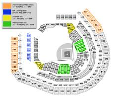 Detailed Citi Field Seating Chart Mets Stadium Citi Field Baseball Seating Map