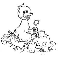 Small Picture Top 25 Free Printable Big Bird Coloring Pages Online