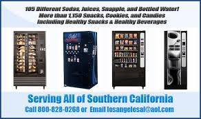 Los Angeles Vending Machines Awesome Los Angeles Vending Machines Is A Full Service Vending Company