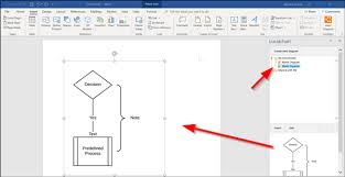 How To Insert A Flow Chart Into Word Create Flowchart In Lucidchart And Import It Into Microsoft Word