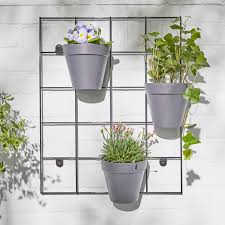 outdoor plant wall rack plant pots