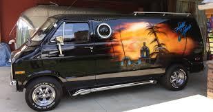 1977 Dodge Conversion Van - Eagles Tribute | Windfall Rod Shop