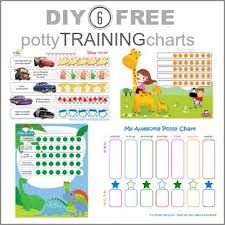 daily potty training chart free potty training chart printables diy ideas