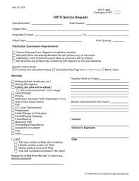 4 Service Request Form Templates Word Word Excel Templates