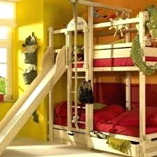 bunk bed with slide and desk. Plain Bed Kids Bunk Bed With Slide Loft  Room  For Bunk Bed With Slide And Desk