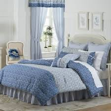 Buy 100% Cotton Queen Comforter Sets from Bed Bath & Beyond & Mary Jane's Home Dora Queen Comforter Set in Blue Adamdwight.com