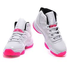 jordan shoes 11. women top aaa+ air jordan 11 white pink ds-718 ❤ liked on polyvore featuring shoes