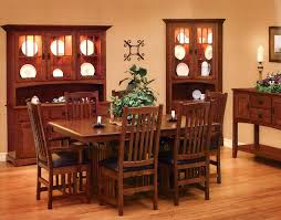 mission style dining furniture mission style oak dining room chairs
