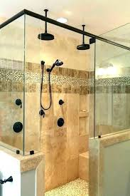 shower head filter heads amazing bathroom multiple showers ideas elegant glass tile accents in decorating delta