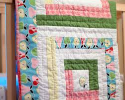 How to Make a Baby Blanket: 10 Baby Blanket Patterns for Sewing ... & Serene Log Cabin Baby Blanket Adamdwight.com