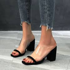 Fashion <b>Summer New</b> Word Transparent With <b>Sandals</b> And <b>Slippers</b> ...